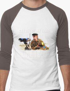 Rumsfield- the burbs Men's Baseball ¾ T-Shirt