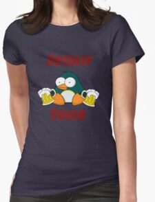 SOTALLY TOBER (Totally Sober) Womens Fitted T-Shirt