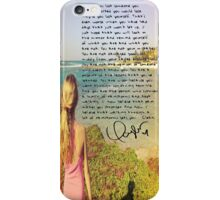 taylor swift beach clean speech  iPhone Case/Skin