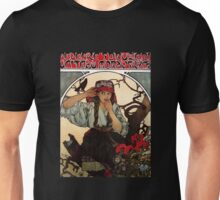 'Moravian Teachers Choir' by Alphonse Mucha (Reproduction) Unisex T-Shirt