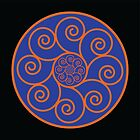 Concentric Spirals (2014) by Infinite Path  Creations