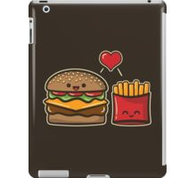 Burger and Fries iPad Case/Skin