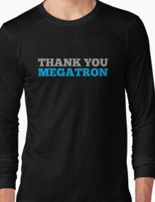 Thank You Megatron Long Sleeve T-Shirt