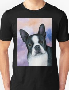 Dog 128 Boston Terrier Unisex T-Shirt