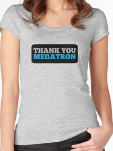 Megatron! Women's Fitted Scoop T-Shirt
