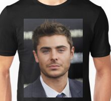 Handsome Zac Efron 2 Unisex T-Shirt