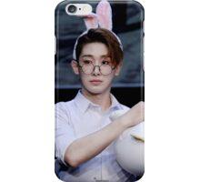Bunny eared wonho iPhone Case/Skin