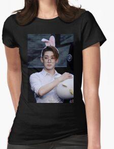 Bunny eared wonho Womens Fitted T-Shirt