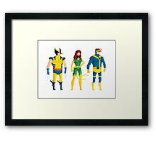 Mutants in Bits Framed Print
