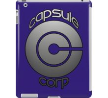 capsule corp ( dragon ball) iPad Case/Skin