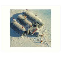 Polyxena Base Camp Art Print
