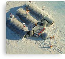 Polyxena Base Camp Canvas Print