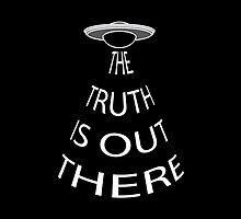 The Truth is Out There (Black) by lunanova