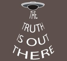 The Truth is Out There (Black) One Piece - Short Sleeve