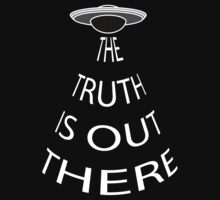 The Truth is Out There (Black) One Piece - Long Sleeve