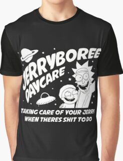 Rick and Morty Inspired Jerryboree Graphic T-Shirt