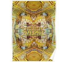 Let Her Eat Cake Queen's Grand Apartment Versailles Poster