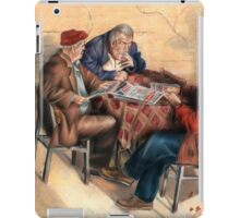 The  News Conference by Alma Lee esbq iPad Case/Skin