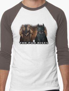 The Fur Rises Men's Baseball ¾ T-Shirt