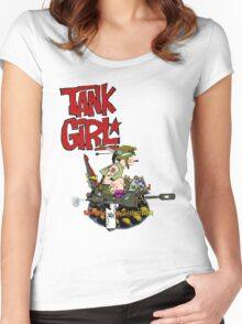 Tank this... Women's Fitted Scoop T-Shirt