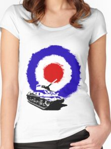 Tank Target Women's Fitted Scoop T-Shirt