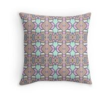 Pastel color abstract Throw Pillow