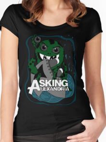 Asking Alexandria Women's Fitted Scoop T-Shirt
