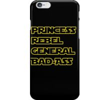 Princess Leia: A Summary iPhone Case/Skin