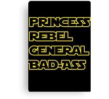 Princess Leia: A Summary Canvas Print