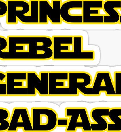 Princess Leia: A Summary Sticker