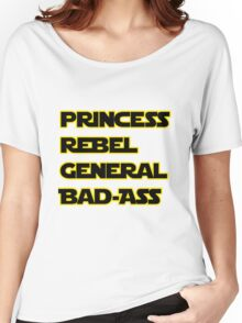 Princess Leia: A Summary Women's Relaxed Fit T-Shirt