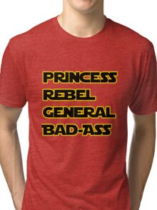 Princess Leia: A Summary Tri-blend T-Shirt