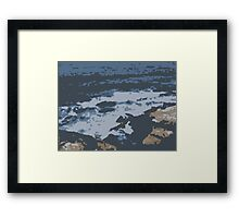Coogee Abstract Framed Print