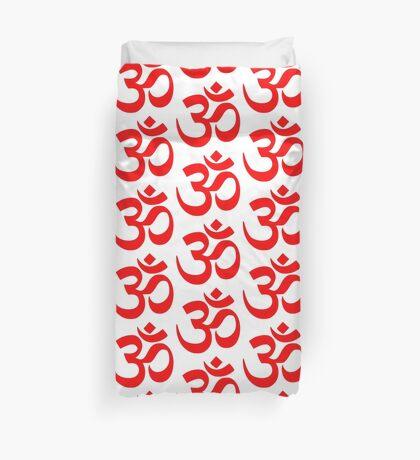 ॐ Om Shanti Om Symbol Hinduism Yoga Namaste Indian Peace Aum Namah Shivaya Duvet Cover