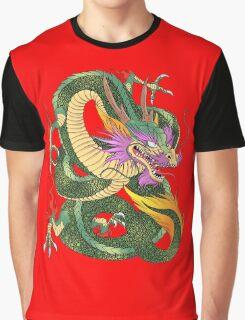 colorful Japanese dragon Shenlong  Graphic T-Shirt
