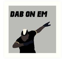 Pogba - Dab on Em Celebration minimalist Art Print