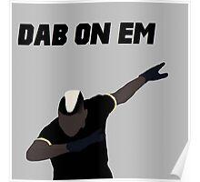 Pogba - Dab on Em Celebration minimalist Poster