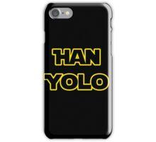 Han Solo #yolo iPhone Case/Skin