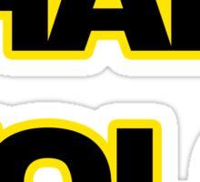 Han Solo #yolo Sticker