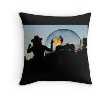 Flaming Lips Throw Pillow