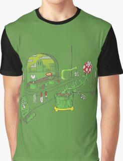 Window Planter Graphic T-Shirt