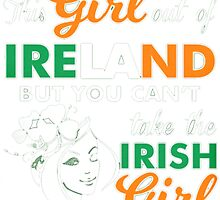AN IRISH GIRL by HotTShirts