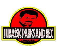 Jurassic Parks And Rec by barrelroll1