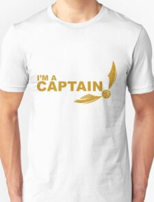 I'm a Captain - Yellow ink T-Shirt