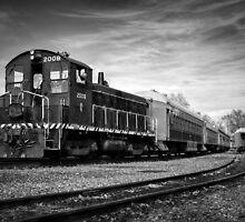 Sacramento Train by Daniel Czerwinski