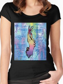Hand of Taboo  Women's Fitted Scoop T-Shirt