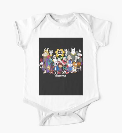 Undertale - All characters One Piece - Short Sleeve