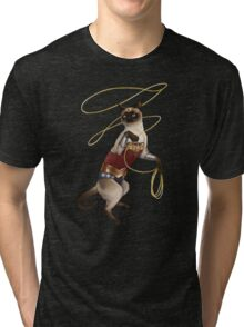 Wonder Cat Tri-blend T-Shirt