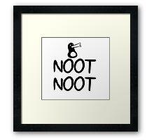 AEiF: Simply Noot Framed Print