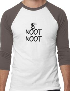 AEiF: Simply Noot Men's Baseball ¾ T-Shirt